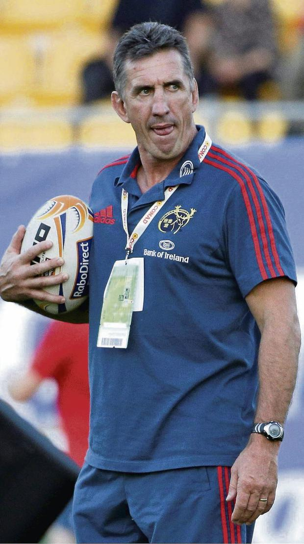 Rob Penney: set to wield the axe