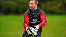 Johne Murphy is still hoping to contribute towards Munster's season after injury