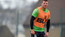 Robbie Henshaw returned to Connacht training this week