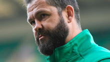 Last weekend's defeat at Twickenham was a sobering experience for Ireland coach Andy Farrell. Photo: Ramsey Cardy