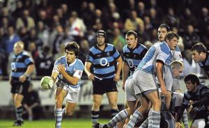 Progression: Conor Murray showing early promise for Garryowen in 2009.