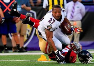 Ray Rice, the former Baltimore running back