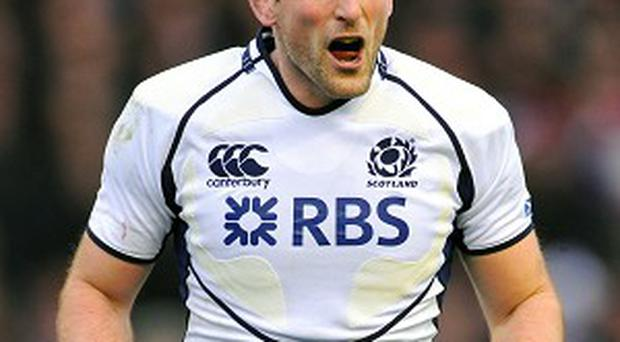 John Barclay last played for Scotland in 2012