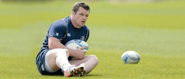 Cian Healy is putting all his focus on Leinster's big for glory against Ulster this Saturday