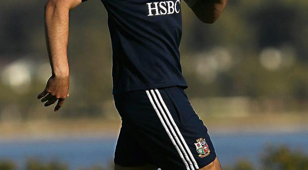 Conor Murray during Lions squad training