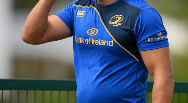 Leinster's new boy Mike McCarthy has overcome an elbow injury and is looking forward to the new season