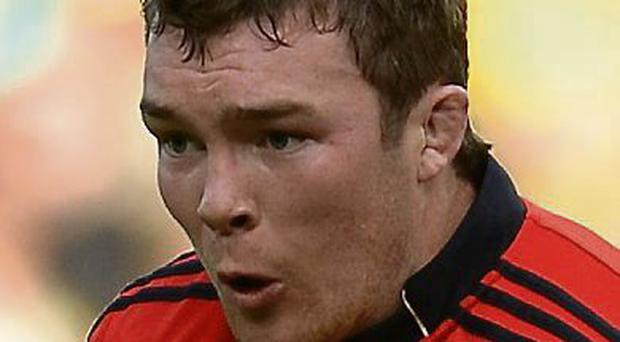 Peter O'Mahony who has been named as Munster captain for the coming season