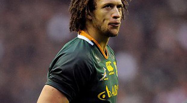 New Leinster signing Zane Kirchner will be at full-back for South Africa