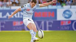 Jonathan Sexton in action for Racing Metro