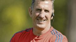 Munster coach Rob Penney