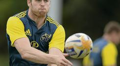 Ivan Dineen impressed in the centre during Munster's opening-day win over Edinburgh last week