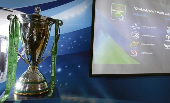 The first meeting to decide the future of the Heineken Cup will be held in Dublin next month
