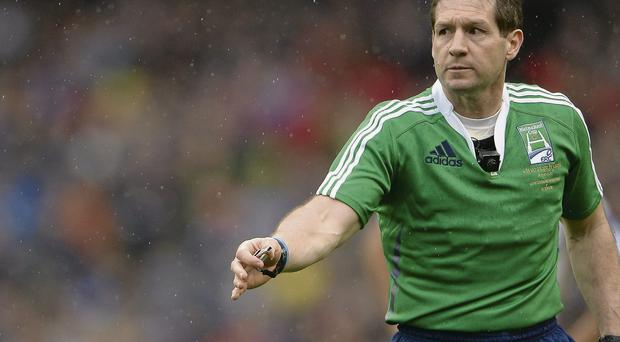 Alain Rolland is to take charge of the inter-provincial clash between Leinster and Munster at the Aviva Stadium.