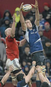 Devin Toner and Paul O'Connell will square off again in Saturday's Pro 12 clash