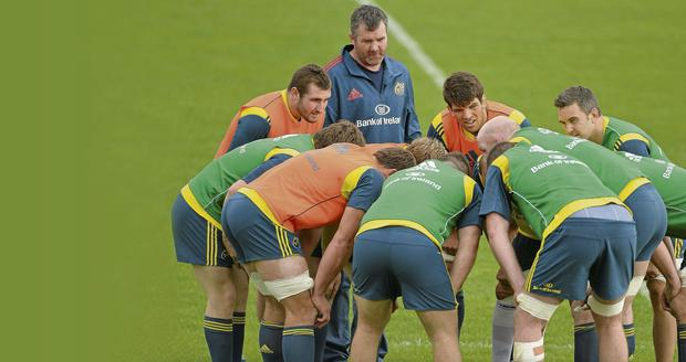 If Anthony Foley can work his magic with the pack, Munster are well equipped to get the better of Leinster