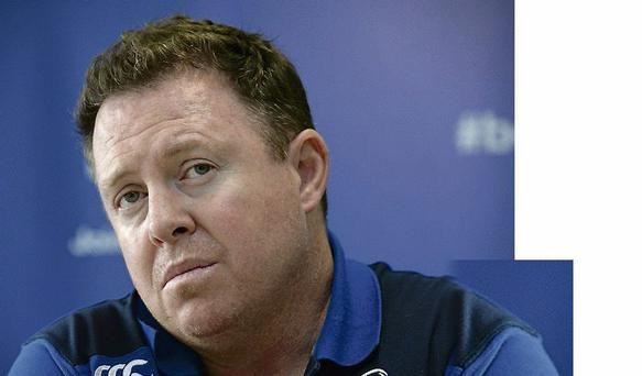 Leinster head coach Matt O'Connor was unable to confirm when Brian O'Driscoll will be fully fit