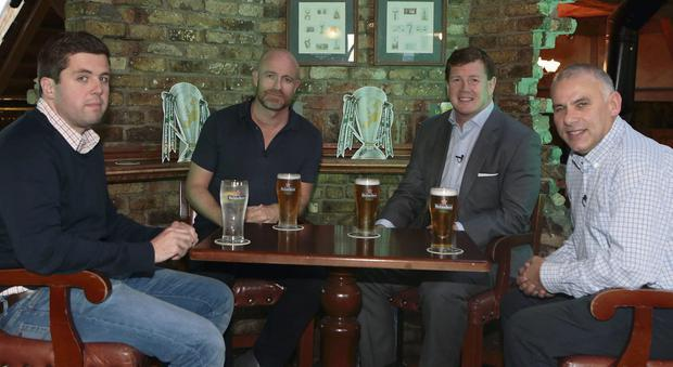 Ruaidhri O'Connor chairs the debate with Denis Hickie, Paul Wallace and Tony Ward at the Irish Independent Heineken Cup Star Predictor discussion