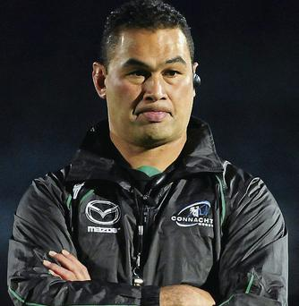 Connacht head coach Pat Lam