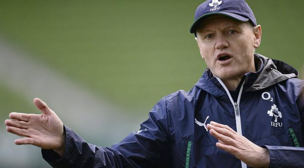 Joe Schmidt will be keen to hit the ground running with a win against Samoa