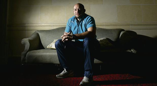 Rory Best and the Ireland team are still full of good vibrations at Carton House despite their defeat against Australia