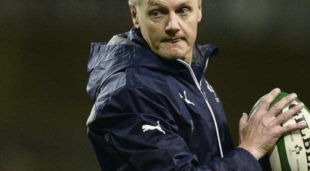 Joe Schmidt will have his coaching expertise tested to the full on Sunday