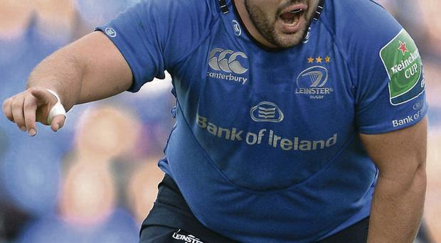 Leinster's Martin Moore
