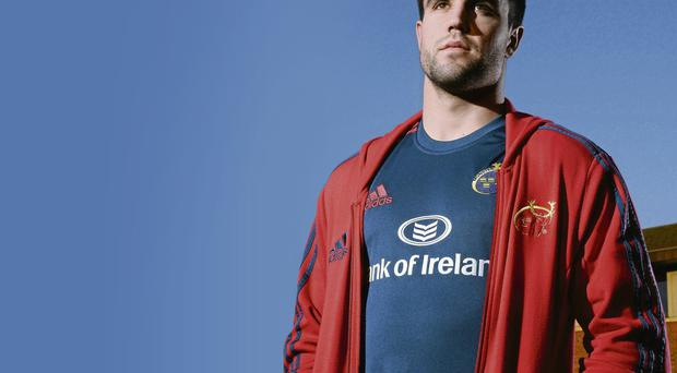 Conor Murphy will be out of action for six weeks with a knee injury, but good news for Munster that he is staying put