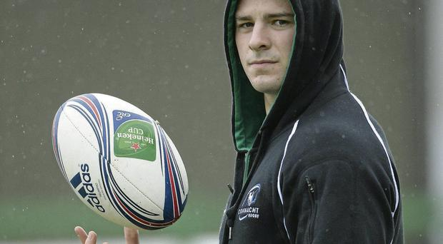 Robbie Henshaw will be hoping to make an impact at outside-centre for Connacht.