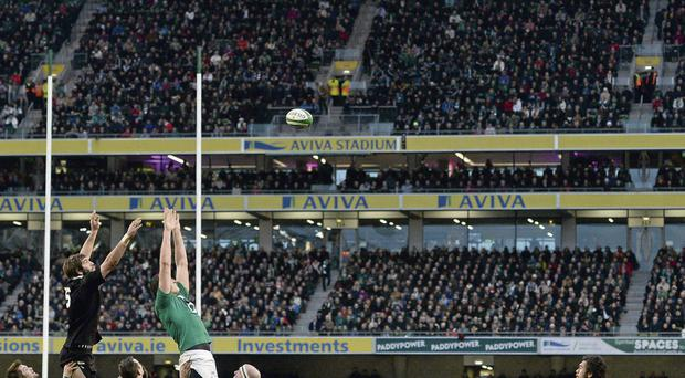 Nigel Owens. 'I'll never forget coming off the field at half-time in the Aviva in November and the crowd nearly took the roof off with their reaction to the players.'