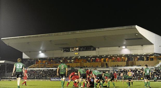 Connacht face Zebre tonight at the Sportsground in what is almost certain to be their final home Heineken Cup game of the campaign