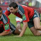 Simon Zebo and Felix Jones return to the Munster team