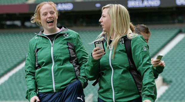 Saturday will mark a represent a historic day for women's rugby in Ireland.