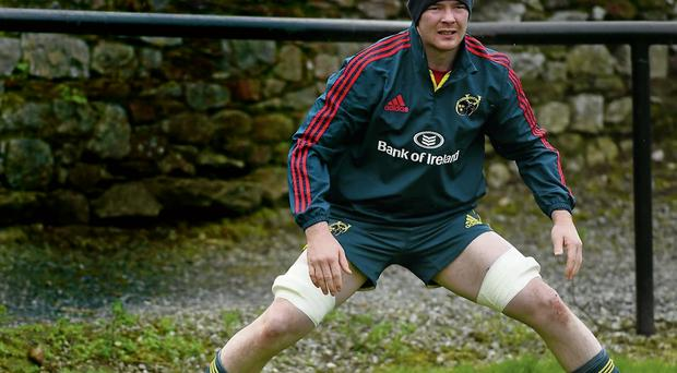 Munster will be hoping that Peter O'Mahony can recover in time to face Toulouse