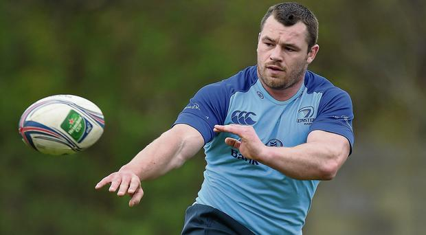 Leinster and Ireland prop Cian Healy reacted strongly to Paul Kimmage's