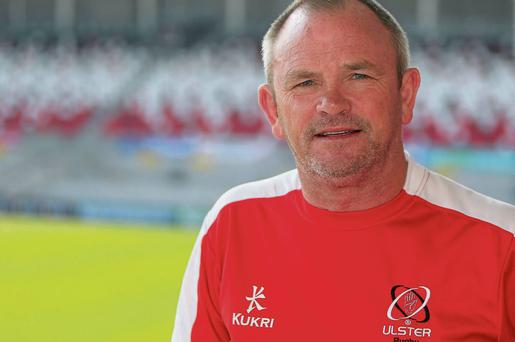 Ulster coach Mark Anscombe is looking forward to the clash with Leinster