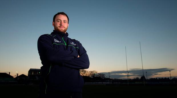 Eoin McKeon after training ahead of Connacht's clash with Exeter