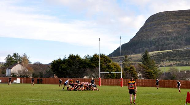 At the foot of Knocknarea, Sligo RFC cater for more than 400 members