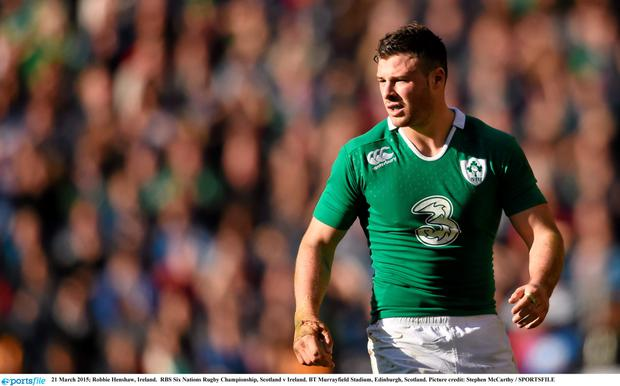 Robbie Henshaw was a revelation for Ireland during the Six Nations Championship