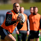 Simon Zebo is back from Ireland duty to boost Munster's options for tomorrow's clash with Connacht