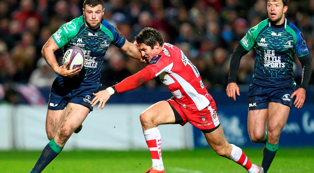 Getting Robbie Henshaw back in Connacht colours against Gloucester was a major boost