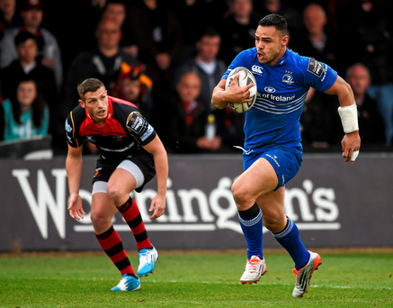 Ben Te'o was in try-scoring form against the Dragons and Leinster fans will be hoping that there is more of the same from him against Toulon on Sunday