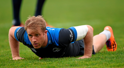 Luke Fitzgerald believes there is hope for the future with Leinster's youth