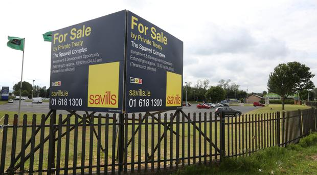 The Spawell Centre in Templeogue, Dublin still has the 'For Sale' sign up