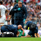 'A soft tissue injury to either Conor Murray (pictured) or Eoin Reddan puts massive pressure on all concerned'