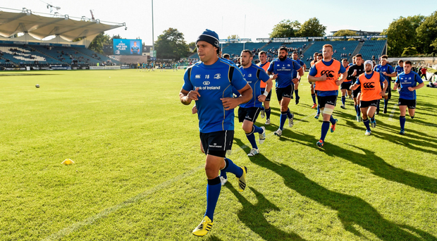 'Being back home in the RDS again is what it's all about' says Isa Nacewa