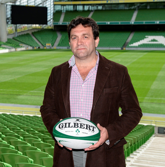 David Nucifora, IRFU Performance Director, in attendance at the launch of the Ireland Men's Rugby Sevens Squad