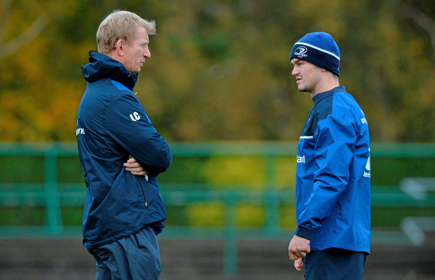 Leo Cullen and Johnny Sexton