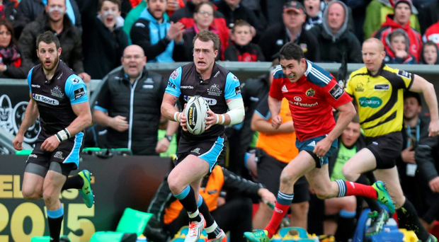 Glagow's Stuart Hogg will provide a huge threat to Leinster