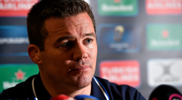 Leinster forwards coach John Fogarty has revealed the frustration levels of the players after the defeat to Toulon. Picture: Matt Browne/SPORTSFILE