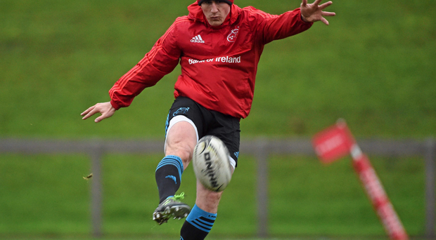 Ian Keatley has been restored to the problem position of No 10 Photo:Sportsfile